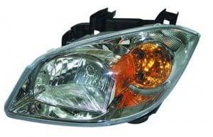 2005 -  2010 Chevrolet Cobalt Headlight Assembly - Left (Driver) Side - (Base Model + LS + LT + LT Team Canada + LTZ)