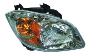 2005 -  2010 Chevrolet Cobalt Front Headlight Assembly Replacement Housing / Lens / Cover - Right (Passenger) Side - (Base Model + LS + LT + LT Team Canada + LTZ)