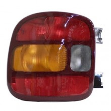 1999 - 2003 GMC Sierra 1500 Rear Tail Light Assembly Replacement / Lens / Cover - Left (Driver) Side - (Stepside)