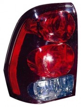 2002 -  2009 Chevrolet Trailblazer Tail Light Rear Lamp - Left (Driver) Side