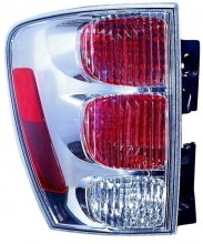 2005 - 2009 Chevrolet Equinox Rear Tail Light Assembly Replacement / Lens / Cover - Left (Driver) Side