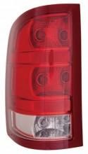 2010 - 2012 GMC Sierra 1500 Rear Tail Light Assembly Replacement / Lens / Cover - Left (Driver) Side - (Hybrid Flex Hybrid + SL + SLE + SLT + WT)