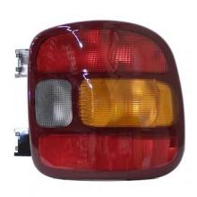 1999 - 2005 GMC Sierra 1500 Rear Tail Light Assembly Replacement / Lens / Cover - Right (Passenger) Side - (Stepside)