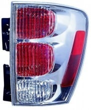 2005 - 2009 Chevrolet Equinox Rear Tail Light Assembly Replacement / Lens / Cover - Right (Passenger) Side