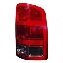 2007 - 2013 GMC Sierra 1500 Rear Tail Light Assembly Replacement / Lens / Cover - Right (Passenger) Side - (SL + SLE + SLT + WT)