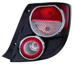 2012 -  2016 Chevrolet Sonic Rear Tail Light Assembly Replacement / Lens / Cover - Right (Passenger) Side - (Hatchback)