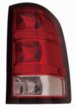 2010 - 2014 GMC Sierra 1500 Rear Tail Light Assembly Replacement / Lens / Cover - Right (Passenger) Side