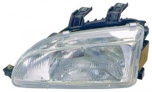 1992 - 1995 Honda Civic Front Headlight Assembly Replacement Housing / Lens / Cover - Left (Driver) Side