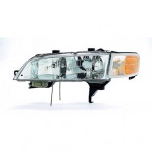 1994 -  1997 Honda Accord Front Headlight Assembly Replacement Housing / Lens / Cover - Left (Driver) Side