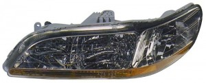 1998 -  2000 Honda Accord Front Headlight Assembly Replacement Housing / Lens / Cover - Left (Driver) Side