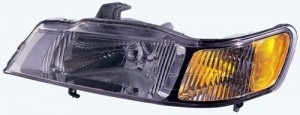 1999 - 2004 Honda Odyssey Front Headlight Assembly Replacement Housing / Lens / Cover - Left (Driver) Side