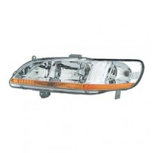 2001 -  2002 Honda Accord Front Headlight Assembly Replacement Housing / Lens / Cover - Left (Driver) Side