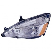 2003 - 2007 Honda Accord Front Headlight Assembly Replacement Housing / Lens / Cover - Left (Driver) Side - (Hybrid Gas Hybrid)