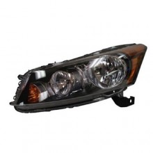 2008 -  2012 Honda Accord Front Headlight Assembly Replacement Housing / Lens / Cover - Left (Driver) Side - (4 Door; Sedan)
