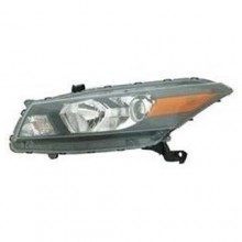2008 -  2010 Honda Accord Front Headlight Assembly Replacement Housing / Lens / Cover - Left (Driver) Side - (Coupe)