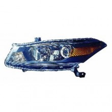 2011 -  2012 Honda Accord Front Headlight Assembly Replacement Housing / Lens / Cover - Left (Driver) Side - (Coupe)