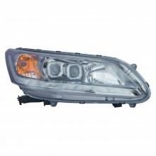 2013 - 2015 Honda Accord Headlight Assembly - Left (Driver) (CAPA Certified)