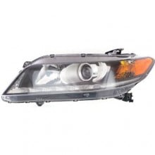 2013 -  2015 Honda Accord Front Headlight Assembly Replacement Housing / Lens / Cover - Left (Driver) Side - (3.5L V6 Coupe)