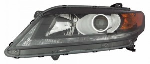 2013 -  2015 Honda Accord Front Headlight Assembly Replacement Housing / Lens / Cover - Left (Driver) Side - (2.4L L4 Coupe)