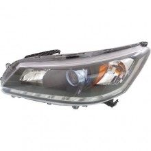 2014 -  2015 Honda Accord Front Headlight Assembly Replacement Housing / Lens / Cover - Left (Driver) Side - (Gas Hybrid)
