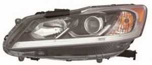 2016 Honda Accord Headlight Assembly (NSF Certified) - Left (Driver) Side - (LX Sedan) Replacement