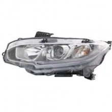 2016 - 2017 Honda Civic Headlight Assembly - Left (Driver)
