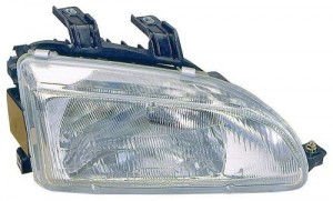 1992 - 1995 Honda Civic Front Headlight Assembly Replacement Housing / Lens / Cover - Right (Passenger) Side