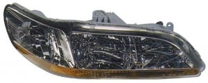 1998 -  2000 Honda Accord Front Headlight Assembly Replacement Housing / Lens / Cover - Right (Passenger) Side
