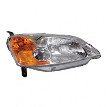 2001 - 2003 Honda Civic Front Headlight Assembly Replacement Housing / Lens / Cover - Right (Passenger) Side - (4 Door; Sedan + Hybrid Gas Hybrid)