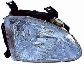 1993 - 1997 Honda Civic del Sol Front Headlight Assembly Replacement Housing / Lens / Cover - Right (Passenger) Side