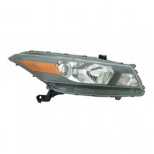 2008 - 2010 Honda Accord Front Headlight Assembly Replacement Housing / Lens / Cover - Right (Passenger) Side - (Coupe)