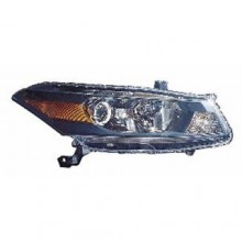 2011 -  2012 Honda Accord Front Headlight Assembly Replacement Housing / Lens / Cover - Right (Passenger) Side - (Coupe)