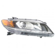 2013 -  2015 Honda Accord Front Headlight Assembly Replacement Housing / Lens / Cover - Right (Passenger) Side - (3.5L V6 Coupe)