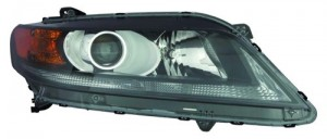 2013 - 2015 Honda Accord Front Headlight Assembly Replacement Housing / Lens / Cover - Right (Passenger) Side - (2.4L L4 Coupe)