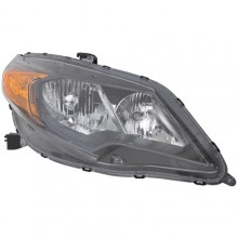 2014 -  2015 Honda Civic Front Headlight Assembly Replacement Housing / Lens / Cover - Right (Passenger) Side - (Coupe)