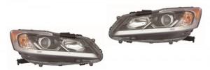 2016 - 2017 Honda Accord Headlight Assembly - Right (Passenger) Side - (LX Sedan) Replacement