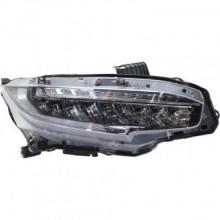 2016 - 2020 Honda Civic Headlight Assembly - Right (Passenger)