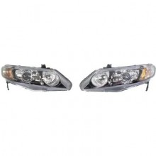2006 - 2009 Honda Civic Headlight Assembly - Right (Passenger)