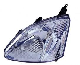 2002 -  2003 Honda Civic Front Headlight Assembly Replacement Housing / Lens / Cover - Left (Driver) Side - (Si 3 Door; Hatchback + SiR 3 Door; Hatchback)