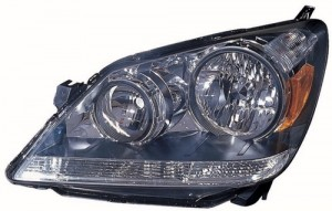 2005 - 2007 Honda Odyssey Front Headlight Assembly Replacement Housing / Lens / Cover - Left (Driver) Side