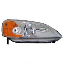 2001 - 2003 Honda Civic Front Headlight Assembly Replacement Housing / Lens / Cover - Right (Passenger) Side - (2 Door; Coupe)