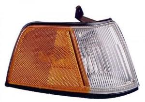 1990 - 1991 Honda Civic Side Marker Light Assembly Replacement / Lens Cover - Front Right (Passenger) Side - (4 Door; Sedan)