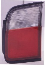 1996 -  1997 Honda Accord Rear Tail Light Assembly Replacement / Lens / Cover - Left (Driver) Side - (4 Door; Sedan + 2 Door; Coupe)