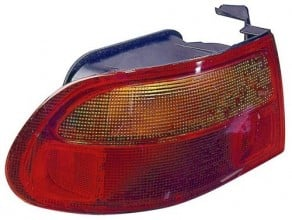 1992 -  1995 Honda Civic Rear Tail Light Assembly Replacement / Lens / Cover - Left (Driver) Side - (3 Door; Hatchback)