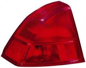 2001 - 2002 Honda Civic Rear Tail Light Assembly Replacement / Lens / Cover - Left (Driver) Side - (4 Door; Sedan)