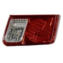 2003 - 2005 Honda Civic Rear Tail Light Assembly Replacement Housing / Lens / Cover - Left (Driver) Side - (4 Door; Sedan)
