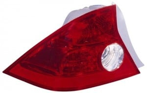 2004 - 2005 Honda Civic Rear Tail Light Assembly Replacement / Lens / Cover - Left (Driver) Side - (2 Door; Coupe)
