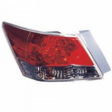 2008 -  2012 Honda Accord Rear Tail Light Assembly Replacement / Lens / Cover - Left (Driver) Side - (Sedan)