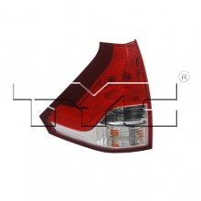 2012 -  2014 Honda CR-V Rear Tail Light Assembly Replacement / Lens / Cover - Left (Driver) Side Lower