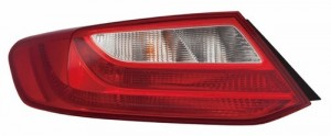 2013 -  2015 Honda Accord Rear Tail Light Assembly Replacement / Lens / Cover - Left (Driver) Side - (Coupe)